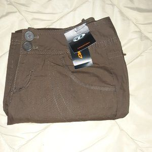 NWT DKNY Jeans Cropped Active Cloth Pants 2